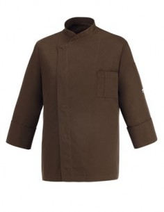 CHAQUETA COCINA CHEAP BROWN