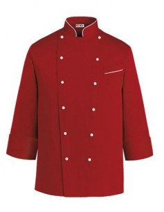 CHAQUETA COCINA PAINT RED