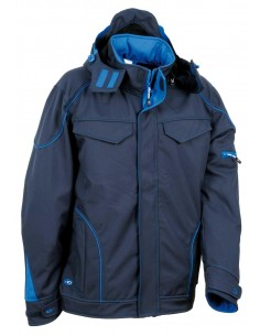 SOFTSHELL TECKA MARINO/ROYAL
